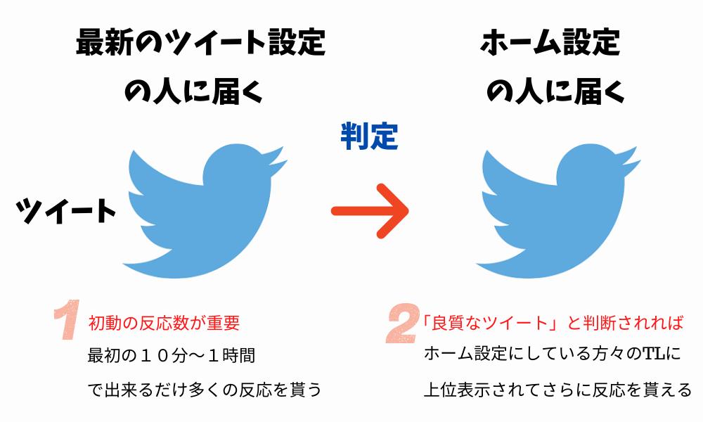 Twitterアルゴリズムの攻略方法