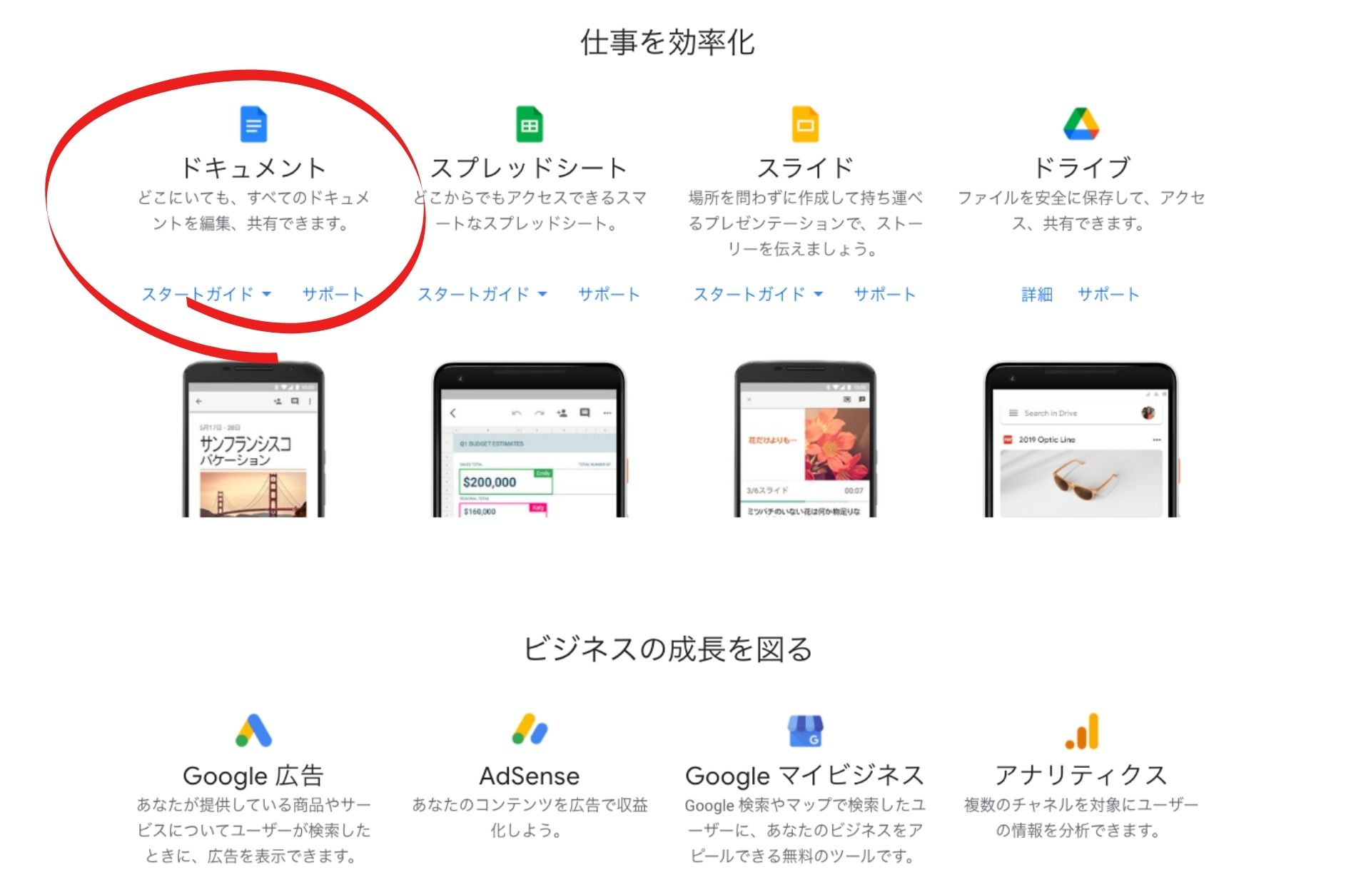 Google無料アプリケーションの紹介